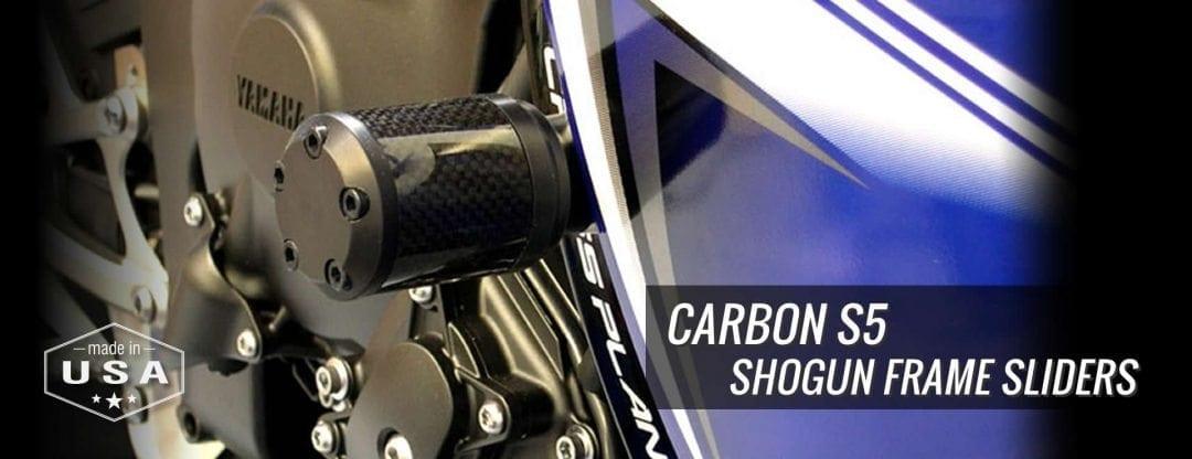 Moto911 - Shogun Carbon S5 Frame Sliders
