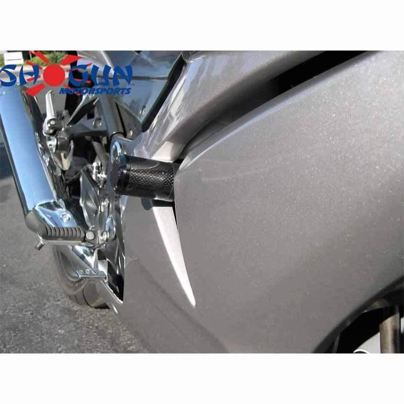 Ninja 250R 08-12 NO CUT Carbon S5 Frame Sliders - Moto911.com