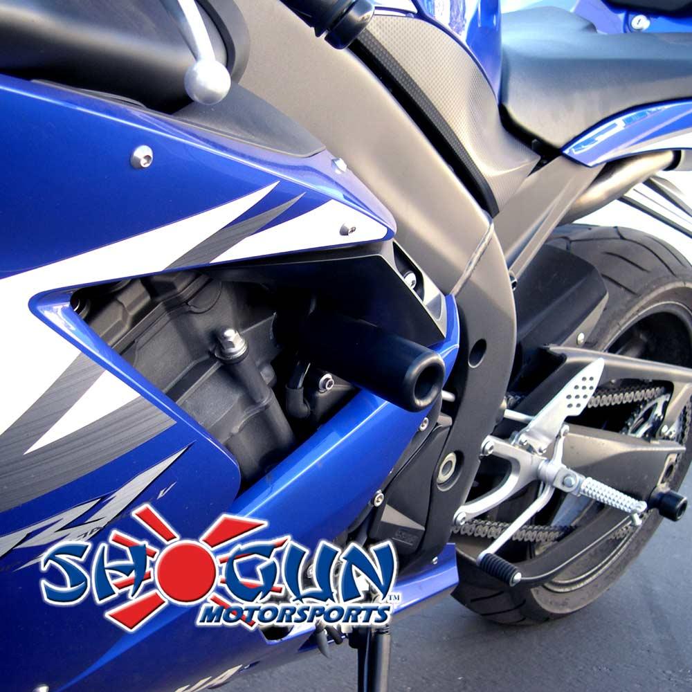 Yamaha R Frame Slider Shogun No Cut Installation