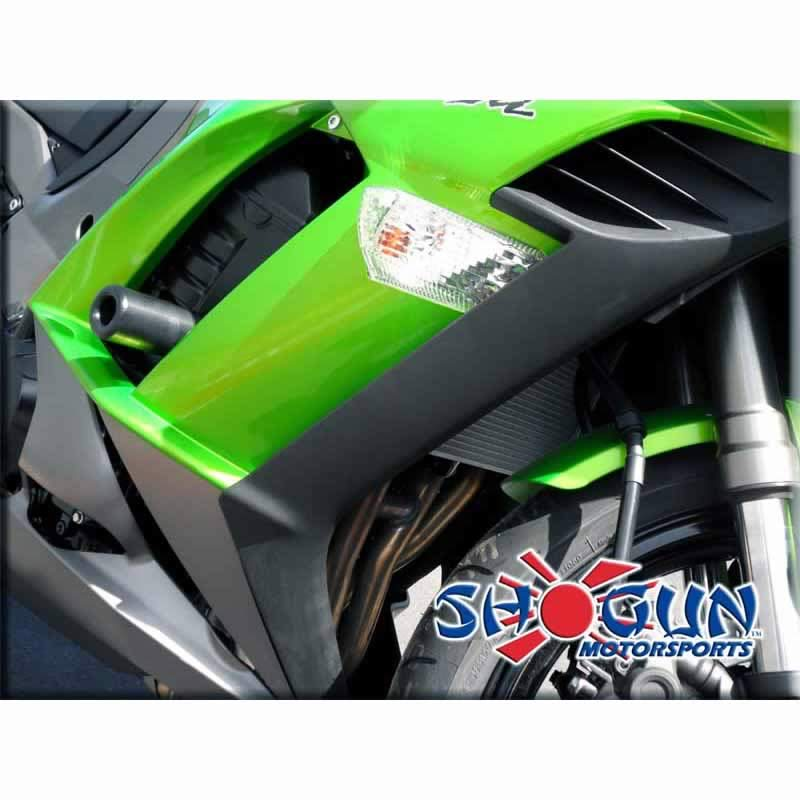 Ninja 1000 14-18 No Cut Black Complete Slider Kit