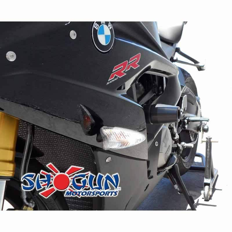 S1000RR 15-16 No Cut Black Frame Sliders