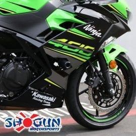 03-07 Suzuki SV1000//S Shogun Frame Sliders No-Cut Black Shogun Motorsports