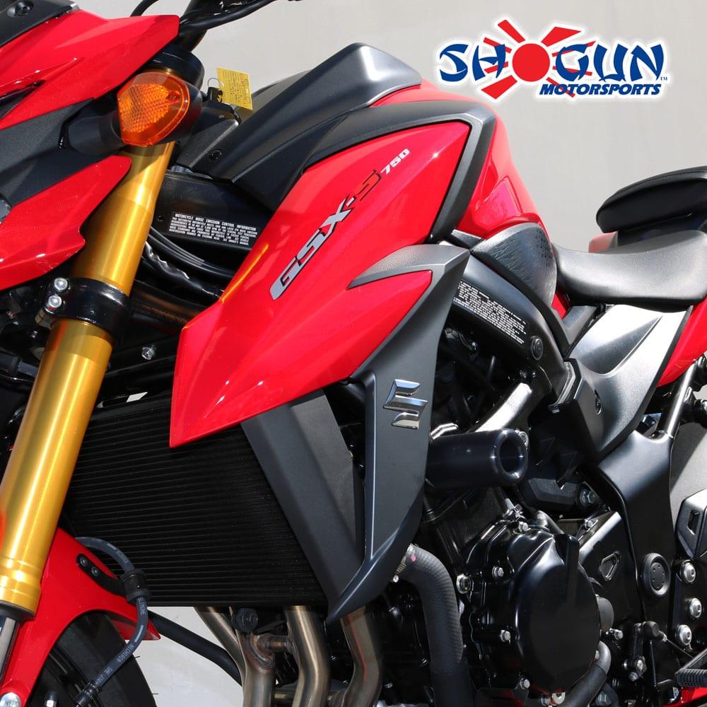 OES Frame Sliders 2018 2019 Suzuki GSXS750 GSX-S750 Red